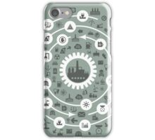 Industry a circle iPhone Case/Skin