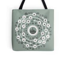 Industry a circle Tote Bag