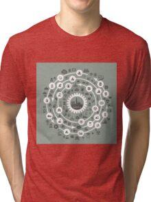 Industry a circle Tri-blend T-Shirt