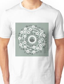 Industry a circle Unisex T-Shirt