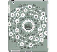 Industry a circle iPad Case/Skin