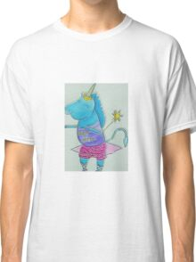 Unicorn Wishes  by Lollypop Arts Classic T-Shirt