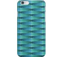 Blue And Green Glass Abstract iPhone Case/Skin