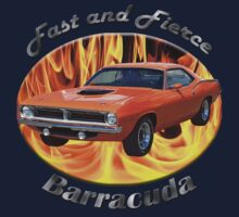 Plymouth Barracuda Fast and Fierce Kids Clothes