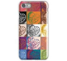 Heart to Heart Rendition, 5x3=15  iPhone Case/Skin
