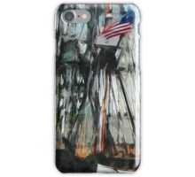 Old Ironsides Boston Harbor Abstract Impressionism iPhone Case/Skin