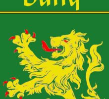 Duffy Coat of Arms/Family Crest Sticker