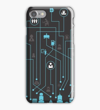 Industry a city iPhone Case/Skin