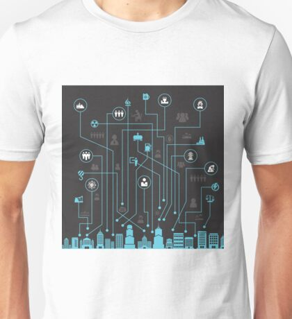 Industry a city Unisex T-Shirt
