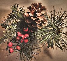 Pinecone & Berries by SexyEyes69