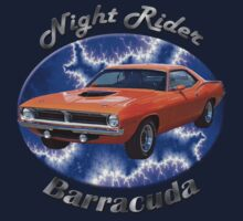 Plymouth Barracuda Night Rider Kids Clothes