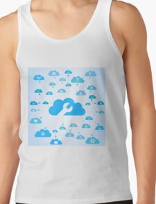 Industry a cloud Tank Top