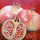 warm pomegranates by Sunflower3