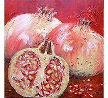 warm pomegranates Photographic Print
