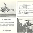 Bell Model 47G Helicopter by John Schneider