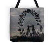 Ferris Silhouette Tote Bag