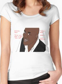 Ainsley Harriott - Spicy Meat Women's Fitted Scoop T-Shirt