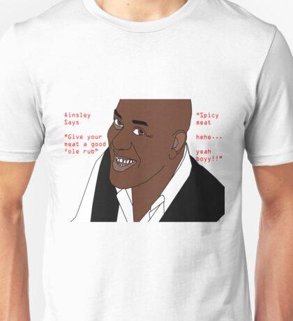Ainsley Harriott - Spicy Meat Unisex T-Shirt