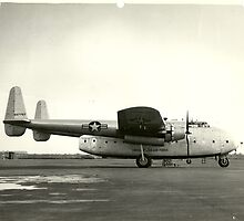 Fairchild C-82 'Packet' by John Schneider