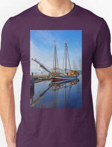 Tall Ship Larinda at Shelburne, Nova Scotia, Canada T-Shirt