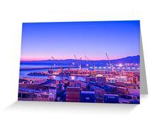 Harbor Greeting Card