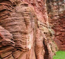 Bothwell Castle Brickwork by Escocia Photography