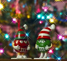Mr. Red & Mrs. Green M&M by Susan S. Kline
