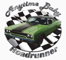 Plymouth Roadrunner Anytime Baby by hotcarshirts