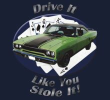 Plymouth Roadrunner Drive It Like You Stole It Kids Clothes