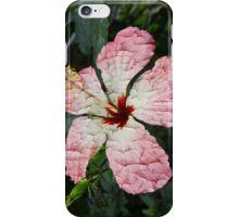 Cracked Hibiscus iPhone Case/Skin