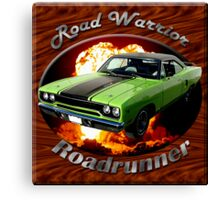 Plymouth Roadrunner Road Warrior Canvas Print