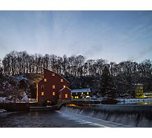 Turning in at the Mill Photographic Print