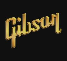 Gibson Gold decoration Clothing & Stickers by goodmusic