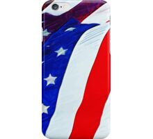 Flag of the United States Abstract Impressionism iPhone Case/Skin