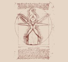 Vitruvian Flame Princess by AGH881007