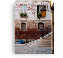 A Little Venetian Corner Canvas Print
