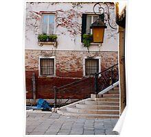 A Little Venetian Corner Poster