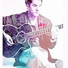 Darren Criss with Guitar by kltj11