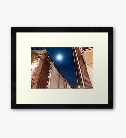 A Glowing Prediction  Framed Print