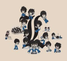 Chibi L everywhere! by Nellow