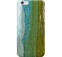 Mountains and Rivers of Denali Alaska Abstract Impressionism iPhone Case/Skin