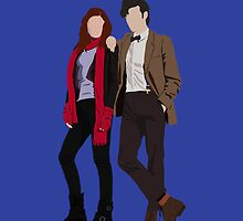 Dr Who and Amy Pond by Liam Grant