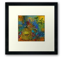 Uncaged Framed Print