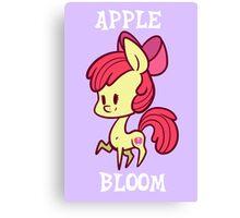 My Little Pony: Chibi Apple Bloom Canvas Print