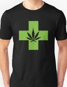 Weed Cross (v2) T-Shirt