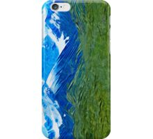 Denali Alaska Abstract Impressionism iPhone Case/Skin