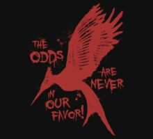 The Odds Mockingjay Graffiti by PanemPropaganda