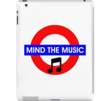 Mind the Music iPad Case/Skin
