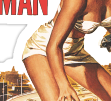 Attack of the 50 Foot Woman Sticker