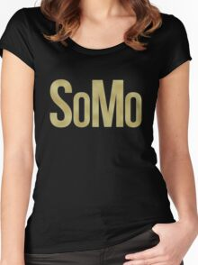 SoMo Women's Fitted Scoop T-Shirt